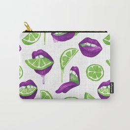Don't Kill My Vibe (Lime) Carry-All Pouch