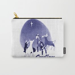 Christmas in the Stable Carry-All Pouch