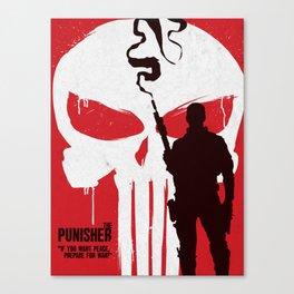 The Punisher alternative art Canvas Print