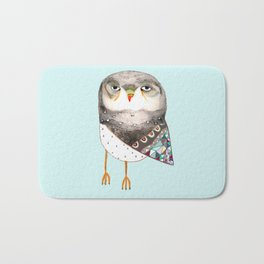 Owl by Ashley Percival Bath Mat