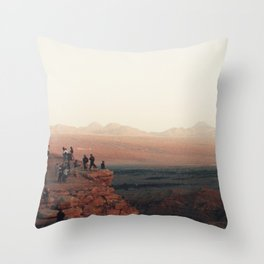 Desert dreams. Throw Pillow
