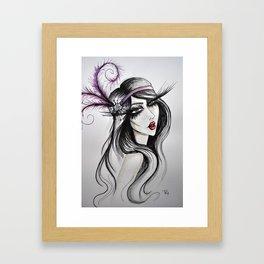Francine Framed Art Print