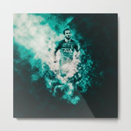 Harry Kane Tottenham Hotspur Metal Print