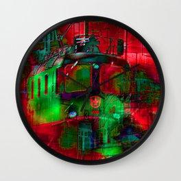 final journey Wall Clock