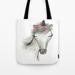 Zoey the Unicorn Tote Bag