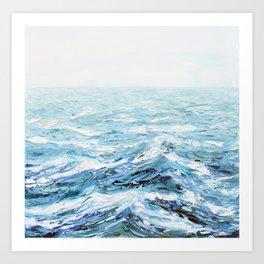 Spellbound Seas Art Print