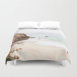 Malibu California Beach Duvet Cover