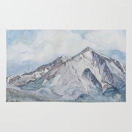 Spring  on Mount Sopris Rug