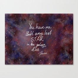 Every Last Star Canvas Print