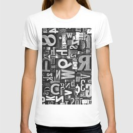 Metal Madness - Typography Photography™ T-shirt