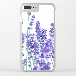 Fresh Lavender #1 #decor #art #society6 Clear iPhone Case