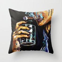 Naturally Bourbon Throw Pillow