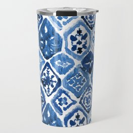 Arabesque tile art Travel Mug