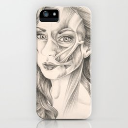 I Turn Myself Inside Out iPhone Case