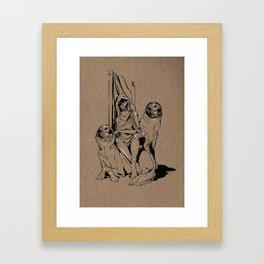 The House Guest Framed Art Print