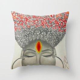Qi Throw Pillow