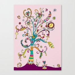 The Lost Key Tree Canvas Print