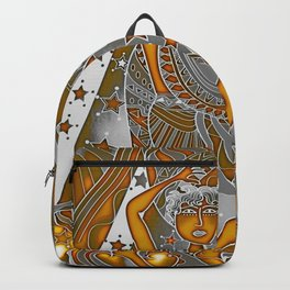 Aquarius the water carrier Backpack
