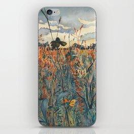 Wildflowers in Velvet iPhone Skin