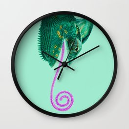 CANDY CHAMELEON Wall Clock