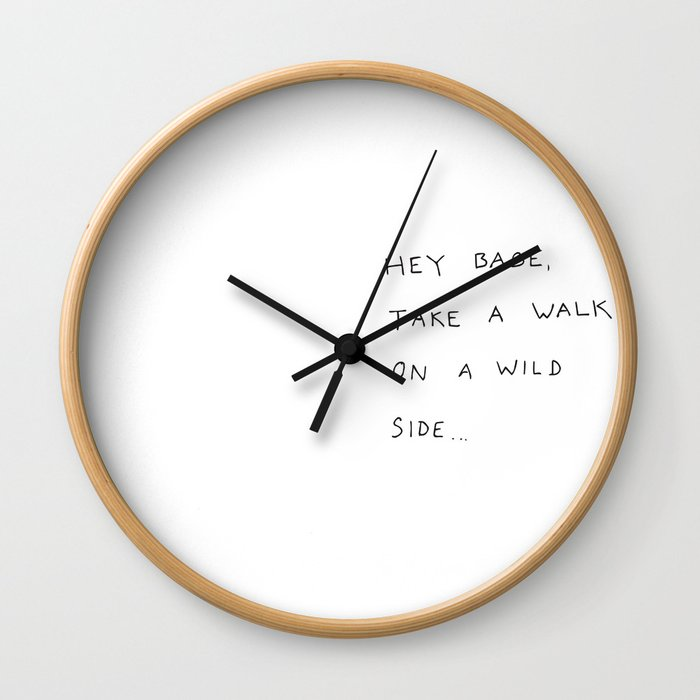 hey babe... Wall Clock