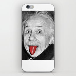 Albert Supreme Einstein iPhone Skin