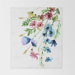 Springtime II Throw Blanket