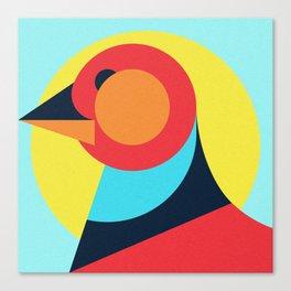 Pagan animals - Bird Canvas Print