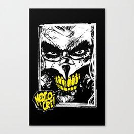 Mediocre! (Yellow) Canvas Print