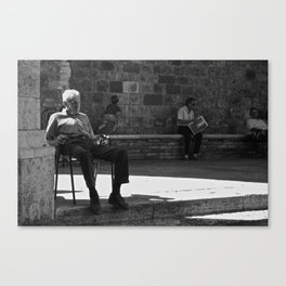 uomo italiano Canvas Print