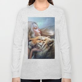 Angel of Tigers Long Sleeve T-shirt