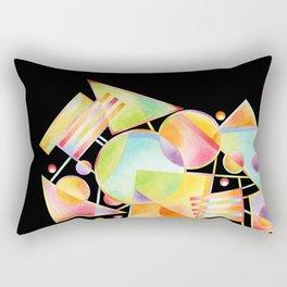 Celebration Motif Rectangular Pillow