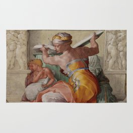 "Michelangelo ""The Libyan Sibyl"" Rug"