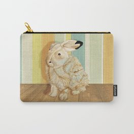 Arctic Hare In The Playroom Carry-All Pouch