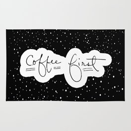 Coffee First Rug