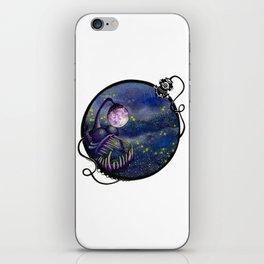 Meegan and the Moon iPhone Skin