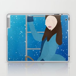 Souffle Girl, Clara Oswin Oswald - Doctor Who Laptop & iPad Skin
