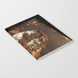 Rusted Truck Door Notebook