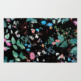 Great Nature Explosion at Night Rug