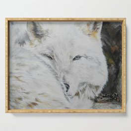 Eye of the Wild by Teresa Thompson Serving Tray