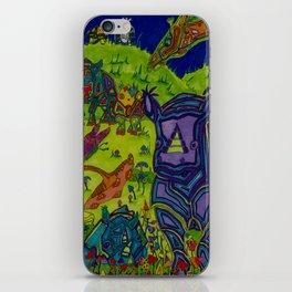 Shrooms and Rhinos iPhone Skin