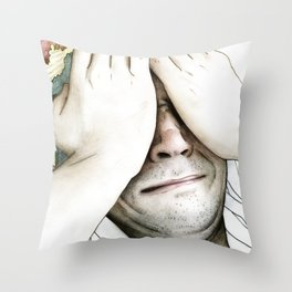 Degeneration Throw Pillow
