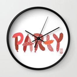 Sausage Party Wall Clock