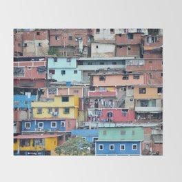 Venezuelan Tetris Throw Blanket