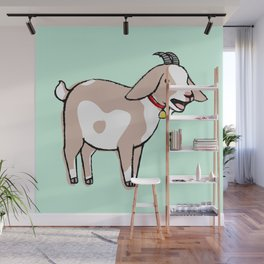 Goat Wall Mural