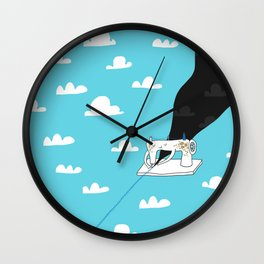 Sew a better world Wall Clock