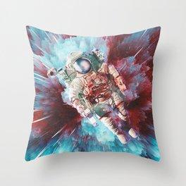 Chroma Void Throw Pillow