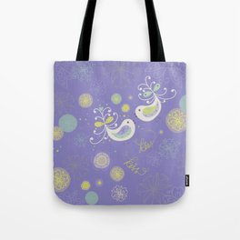 Kiss Little Wing Tote Bag