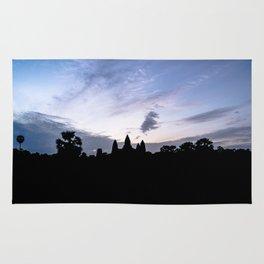 Angkor Wat at Sunrise I, Cambodia Rug