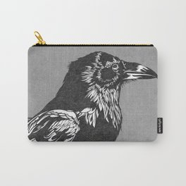 Raven Grey Carry-All Pouch